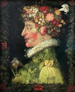 'Spring' by Giuseppe Arcimboldo (1563 AD).