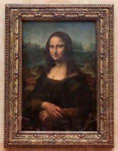'The Mona Lisa' by Leonardo da Vinci (1503-1517 AD).