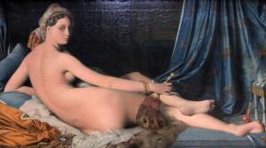 'Grande Odalisque' by Jean-Auguste-Dominique Ingres (1814 AD).