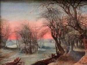 'Winter Landscape' by Denis van Alsloot (1610 AD).