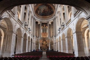 Inside the Royal Chapel.