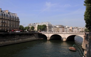 The Seine River.
