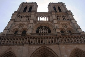 Notre-Dame Cathedral up close and personal.