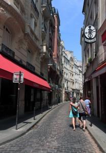 Street in Paris.