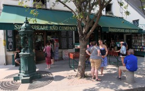 Shakespeare and Company bookstore (opened by George Whitman in 1951 AD - not the original Lost Generation hangout; this was a beatnik hangout).