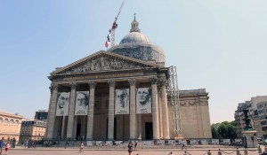 The Panthéon in Paris - a mausoleum containing the remains of distinguished French citizens.