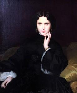 'Madame de Loynes' by Amaury-Duval (1862 AD).