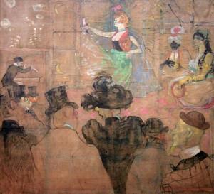 'Moorish Dance' by Henri de Toulouse-Lautrec (1895 AD).