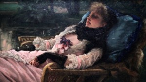 'The Dreamer' by James Tissot (1876 AD).