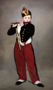 'The Fifer' by Édouard Manet (1866 AD).