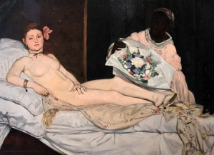 'Olympia' by Édouard Manet (1863 AD).
