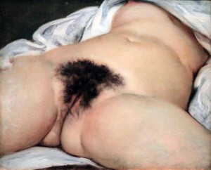 'The Origin of the World' by Gustave Courbet (1866 AD).
