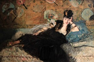 'The Lady with Fans' by Édouard Manet (1873 AD).