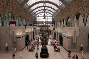 Inside the Musée d'Orsay.