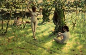 'Arcadia' by Alexander Harrison (1886 AD).