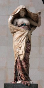 'Nature Unveiling Herself Before Science' by Louis-Ernest Barrias (1899 AD).