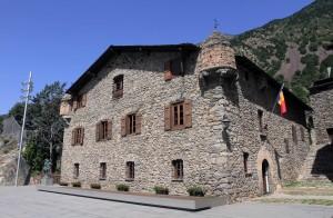 The Casa de la Vall (originally built in 1580 AD as a manor and tower defense).
