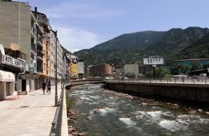 The Gran Valira River.