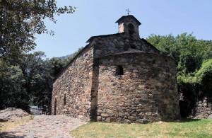 The Church of Sant Andreu.
