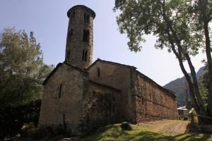 The Church of Santa Coloma.