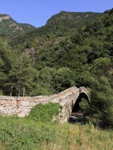 The Bridge of la Margineda (a Romanesque bridge that dates to the Late Middle Ages).