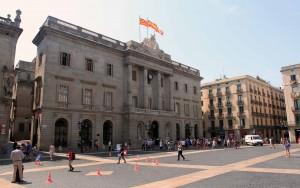 City Hall at Plaça de Sant Jaume.