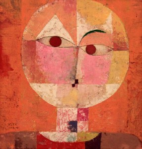 'Senecio (Soon to be Aged)' by Paul Klee (1922 AD).