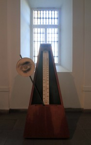 Replica of Man Ray's 'Object to be Destroyed'.