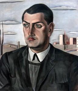 'Portrait of Luis Buñuel' by Salvador Dali (1924 AD).