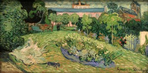 'Daubigny's Garden' by Vincent van Gogh (1890 AD).