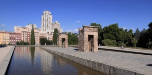 Another view of Temple of Debod.
