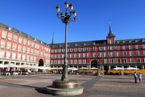 One last view of the Plaza Mayor.