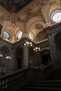 A view of the Grand Staircase, taken further up.