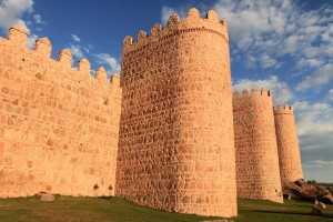 The Walls of Avila - completed between the 11th- and 14th-centuries AD.