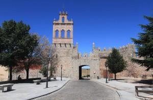Thew Plaza de Concepción Arenal Gate.