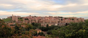 Another view of the walled city of Avila.