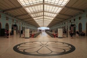Santa Apolónia Railway Station.
