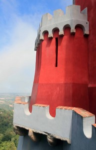 A turret at Pena Palace.
