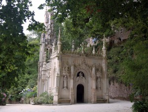 The chapel at Quinta da Regaleira.