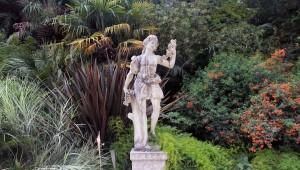 Statue in Quinta da Regaleira Palace's gardens.