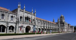 Another view of the Jeronimos Monastery.