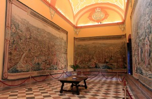 Tapestries Hall (Showcasing the conquest of Tunisia).
