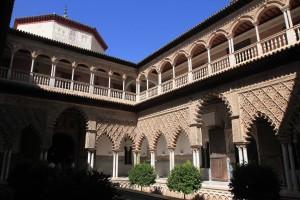 "The Patio de las Doncellas (""Courtyard of the Maidens"")."