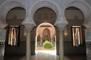 More Moorish arches, looking out in to the Patio de las Doncellas.