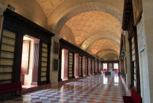 Corridor in the General Archive of the Indies.