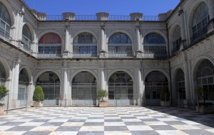Courtyard in the University of Seville.