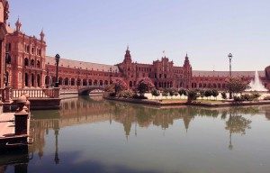 The Plaza de España (built in 1928 AD for the Ibero-American Exposition of 1929 AD).