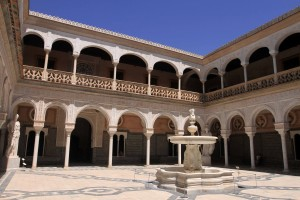 Another view of the main courtyard.