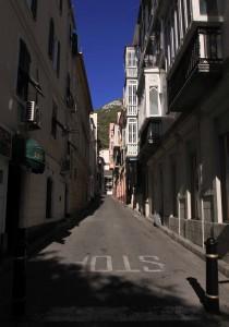 Street in Gibraltar.