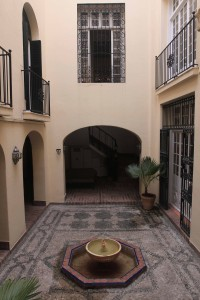 Courtyard in the American Legation.